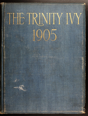 Page 1, 1905 Edition, Trinity College - Ivy Yearbook (Hartford, CT) online yearbook collection