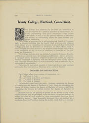Page 12, 1907 Edition, Trinity College - Ivy Yearbook (Hartford, CT) online yearbook collection