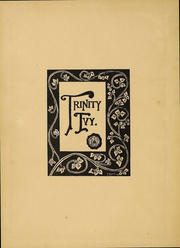 Page 2, 1907 Edition, Trinity College - Ivy Yearbook (Hartford, CT) online yearbook collection