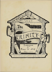 Page 4, 1907 Edition, Trinity College - Ivy Yearbook (Hartford, CT) online yearbook collection