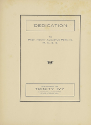 Page 6, 1907 Edition, Trinity College - Ivy Yearbook (Hartford, CT) online yearbook collection