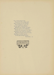 Page 7, 1907 Edition, Trinity College - Ivy Yearbook (Hartford, CT) online yearbook collection
