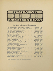 Page 12, 1909 Edition, Trinity College - Ivy Yearbook (Hartford, CT) online yearbook collection