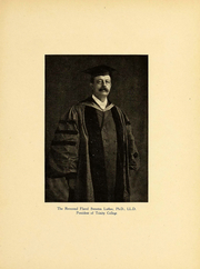 Page 14, 1909 Edition, Trinity College - Ivy Yearbook (Hartford, CT) online yearbook collection