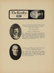 Page 15, 1909 Edition, Trinity College - Ivy Yearbook (Hartford, CT) online yearbook collection