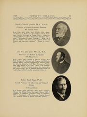 Page 16, 1909 Edition, Trinity College - Ivy Yearbook (Hartford, CT) online yearbook collection