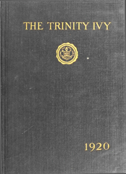 1920 Edition, Trinity College - Ivy Yearbook (Hartford, CT)