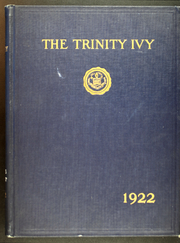 1921 Edition, Trinity College - Ivy Yearbook (Hartford, CT)
