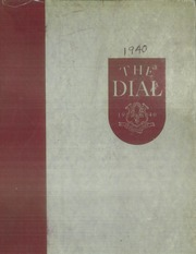 Page 1, 1940 Edition, Central Connecticut State University - Dial Yearbook (New Britain, CT) online yearbook collection