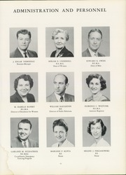 Page 15, 1952 Edition, Central Connecticut State University - Dial Yearbook (New Britain, CT) online yearbook collection
