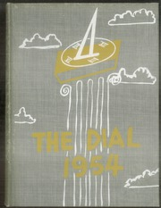 1954 Edition, Central Connecticut State University - Dial Yearbook (New Britain, CT)