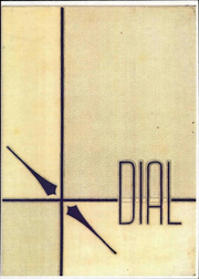Page 1, 1957 Edition, Central Connecticut State University - Dial Yearbook (New Britain, CT) online yearbook collection