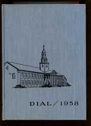 1958 Edition, Central Connecticut State University - Dial Yearbook (New Britain, CT)
