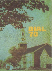 1970 Edition, Central Connecticut State University - Dial Yearbook (New Britain, CT)