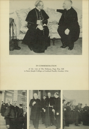Page 12, 1939 Edition, University of St Joseph - Epilogue Yearbook (West Hartford, CT) online yearbook collection