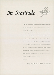 Page 8, 1942 Edition, University of St Joseph - Epilogue Yearbook (West Hartford, CT) online yearbook collection
