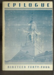 1944 Edition, University of St Joseph - Epilogue Yearbook (West Hartford, CT)