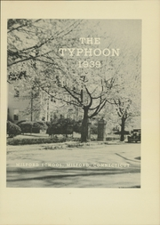 Page 5, 1939 Edition, Milford School - Typhoon Yearbook (Milford, CT) online yearbook collection