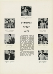 Page 11, 1949 Edition, Milford School - Typhoon Yearbook (Milford, CT) online yearbook collection