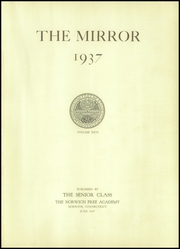 Page 5, 1937 Edition, Norwich Free Academy - Mirror Yearbook (Norwich, CT) online yearbook collection