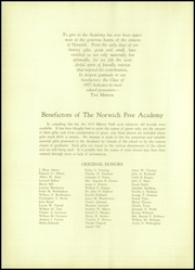 Page 8, 1937 Edition, Norwich Free Academy - Mirror Yearbook (Norwich, CT) online yearbook collection