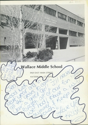 Page 5, 1988 Edition, Wallace Middle School - Lion Yearbook (Waterbury, CT) online yearbook collection