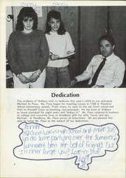 Page 6, 1988 Edition, Wallace Middle School - Lion Yearbook (Waterbury, CT) online yearbook collection