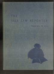 1953 Edition, Yale University Law School - Yale Law Reporter Yearbook (New Haven, CT)