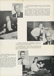 Page 11, 1953 Edition, Yale University Law School - Yale Law Reporter Yearbook (New Haven, CT) online yearbook collection