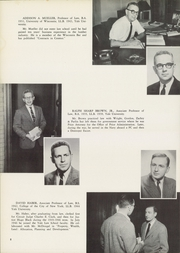 Page 12, 1953 Edition, Yale University Law School - Yale Law Reporter Yearbook (New Haven, CT) online yearbook collection