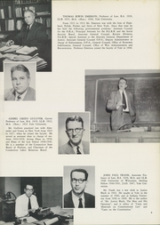 Page 13, 1953 Edition, Yale University Law School - Yale Law Reporter Yearbook (New Haven, CT) online yearbook collection