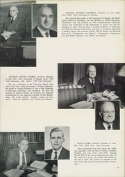Page 15, 1953 Edition, Yale University Law School - Yale Law Reporter Yearbook (New Haven, CT) online yearbook collection