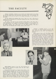Page 9, 1953 Edition, Yale University Law School - Yale Law Reporter Yearbook (New Haven, CT) online yearbook collection