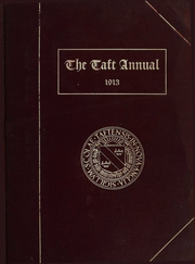 Taft School - Taft Annual Yearbook (Watertown, CT) online yearbook collection, 1913 Edition, Page 1