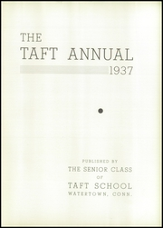 Page 7, 1937 Edition, Taft School - Taft Annual Yearbook (Watertown, CT) online yearbook collection