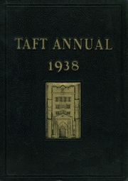 Taft School - Taft Annual Yearbook (Watertown, CT) online yearbook collection, 1938 Edition, Page 1