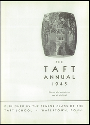 Page 5, 1945 Edition, Taft School - Taft Annual Yearbook (Watertown, CT) online yearbook collection