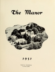 Page 9, 1951 Edition, Fairfield University - Manor Yearbook (Fairfield, CT) online yearbook collection
