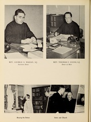 Page 16, 1953 Edition, Fairfield University - Manor Yearbook (Fairfield, CT) online yearbook collection