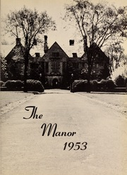 Page 5, 1953 Edition, Fairfield University - Manor Yearbook (Fairfield, CT) online yearbook collection