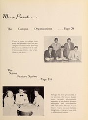 Page 9, 1953 Edition, Fairfield University - Manor Yearbook (Fairfield, CT) online yearbook collection