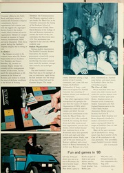 Page 15, 1988 Edition, Fairfield University - Manor Yearbook (Fairfield, CT) online yearbook collection