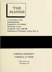 Page 5, 1988 Edition, Fairfield University - Manor Yearbook (Fairfield, CT) online yearbook collection