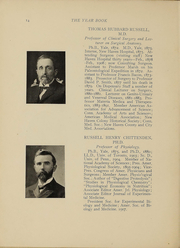 Page 11, 1910 Edition, Yale University School of Medicine - Yearbook (New Haven, CT) online yearbook collection