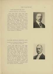 Page 12, 1910 Edition, Yale University School of Medicine - Yearbook (New Haven, CT) online yearbook collection