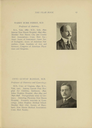 Page 14, 1910 Edition, Yale University School of Medicine - Yearbook (New Haven, CT) online yearbook collection