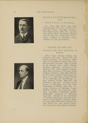 Page 15, 1910 Edition, Yale University School of Medicine - Yearbook (New Haven, CT) online yearbook collection
