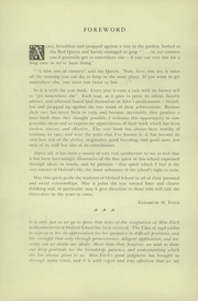 Page 6, 1948 Edition, Oxford School - Oxfordian Yearbook (Hartford, CT) online yearbook collection