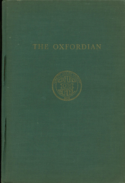1951 Edition, Oxford School - Oxfordian Yearbook (Hartford, CT)