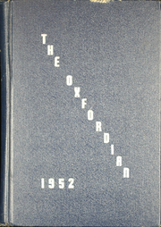 1952 Edition, Oxford School - Oxfordian Yearbook (Hartford, CT)